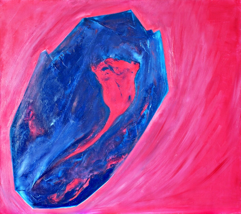 «Chintamani (The Stone from Orion)» /October 21, 2006/ Canvas, оil. 80x90