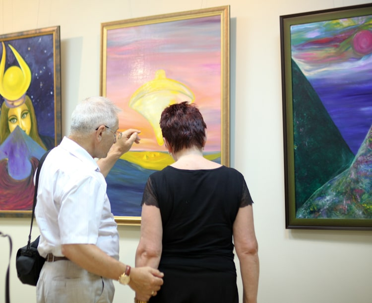Reviews of visitors of exhibitions of Victoria PreobRAzhenskaya